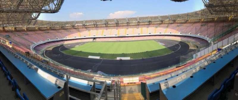 """Borriello, ecco lo stadio San Paolo: """"Siamo particolarmente soddisfatti """""""