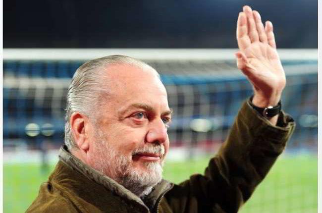 "De Laurentiis: ""Rog al Siviglia? Vediamo, devo parlare con Ancelotti…"""