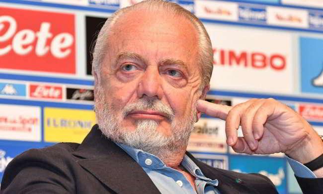"""De Laurentiis: """"Vendo Insigne per 200milioni. La verità su Koulibaly. Su Sarri dico..."""""""