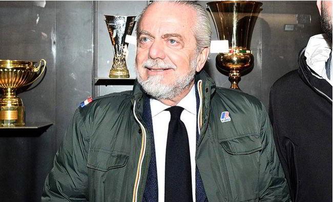 Le parole di De Laurentiis dopo la sconfitta del Napoli contro la Samp. Il presidente difende squadra e allenatore.