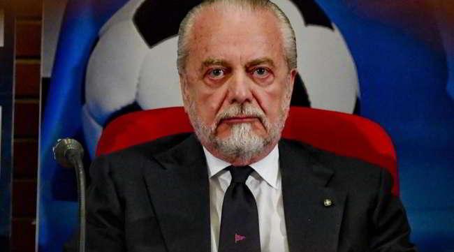 """De Laurentiis: """"Voglio giocare la Champions a Bari, tra due anni il nuovo stadio"""""""