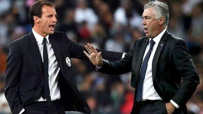 Che sfida Torino Napoli, Ancelotti contro Mazzarri e poi Allegri