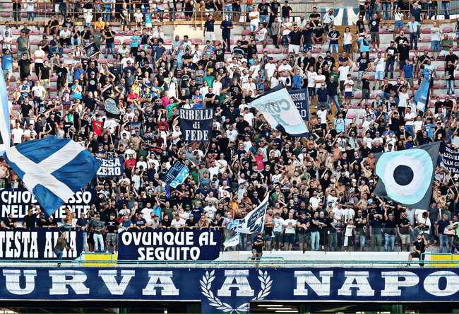 """Volantino della Curva A contro De Laurentiis: """"sei avido ma..."""""""