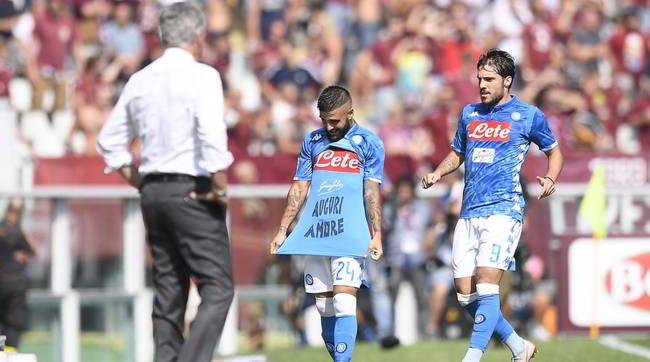 Torino-Napoli 1-3. Dominio Napoli. Ancelotti lancia un messaggio al campionato