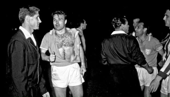 Stella Rossa-Napoli finì in rissa l'unico precedente del1966