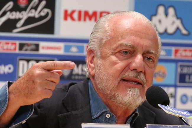 """De Laurentiis: """"Il Napoli ha vinto solo con Maradona, dopo è fallito. Eravamo al 525..."""""""