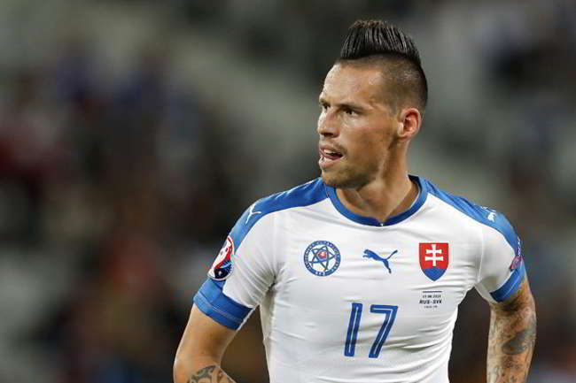 Nuovo record per Hamsik in una speciale classifica