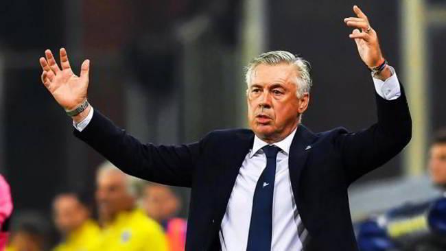 """Sky: """"Ancelotti deluso, lo ha detto ai giocatori a Castel Volturno"""". I dettagli"""
