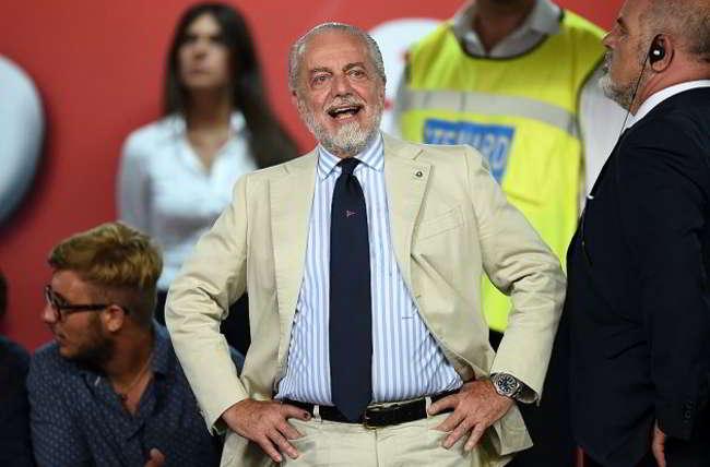 """De Laurentiis: """"il Napoli a Edo. Voglio vincere la Champions e non lo scudetto. Ancelotti a vita..."""""""