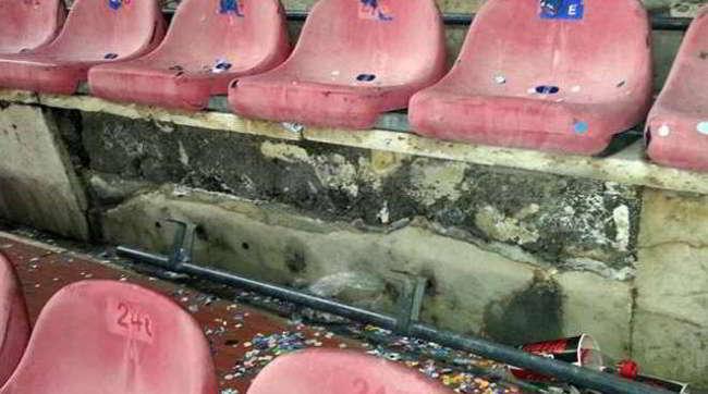 San Paolo i sediolini e bagni pronti a dicembre. Sorpresa Maxischermi