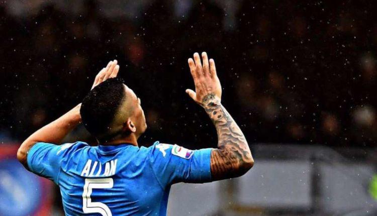 Il centrocampista brasiliano ha parlato della convocazione in nazionale e del Napoli. Allan sfida la Roma e sogna l'impresa Champions.