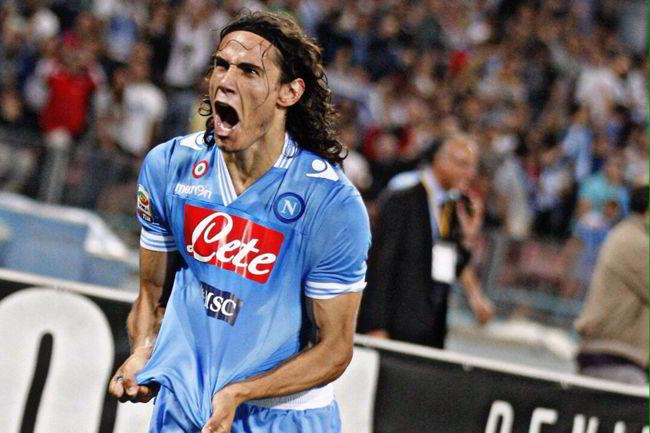 """Cavani: """"Tornare a Napoli? l'interesse degli azzurri mi fa piacere"""""""