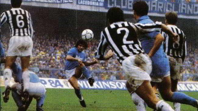punizione Maradona Tacconi