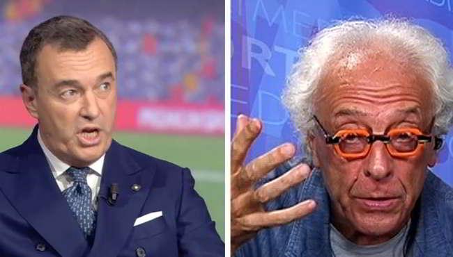 Mughini difende Ronaldo dalle accuse di stupro. Pistocchi lo distrugge su Twitter