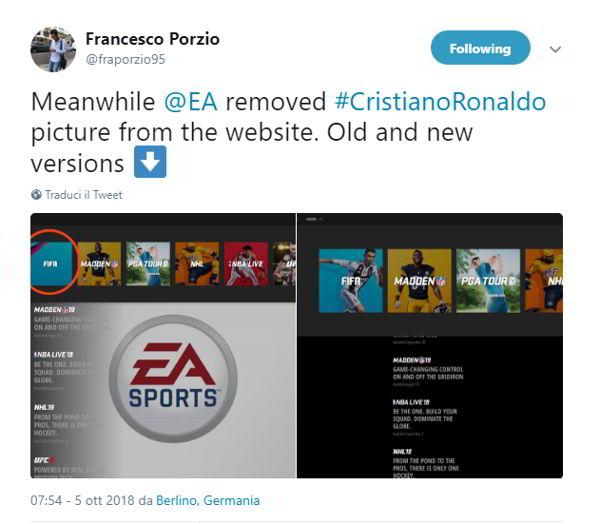 Gli sponsor abbandonano Ronaldo dopo le accuse di stupro. Crollo Juve in borsa