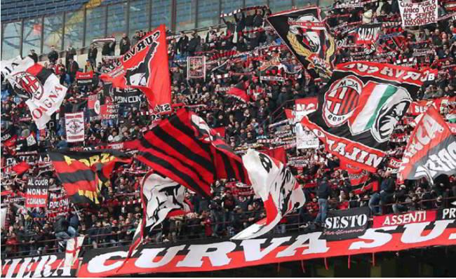 """Il tifosi del Milan attaccano Bonucci e difendono i Napoletani: """"vergognoso allo stadium"""""""