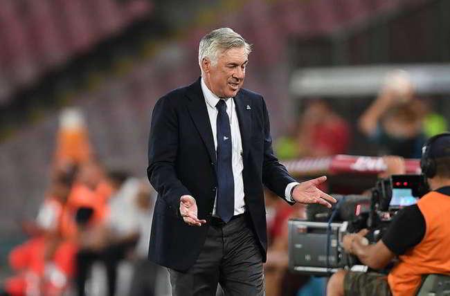 """Ancelotti: """"Napoli stupenda, Insigne deve crescere. Cori razzisti solo in Italia"""""""