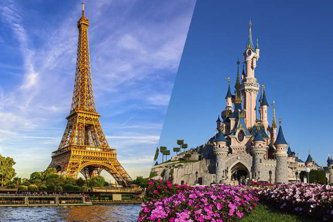 Ultrà del Psg portano i tifosi del Napoli a Disneyland
