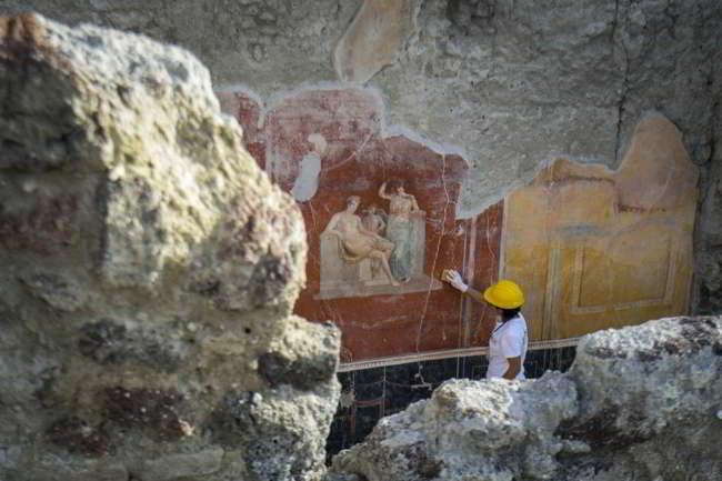 Pompei una scritta cambia la data dell'eruzione, avvenne il 24 ottobre