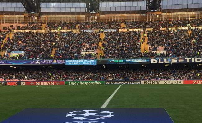 Napoli-Liverpool, il San Paolo pronto all'urlo The Champions. Ecco al situazione a fuorigrotta