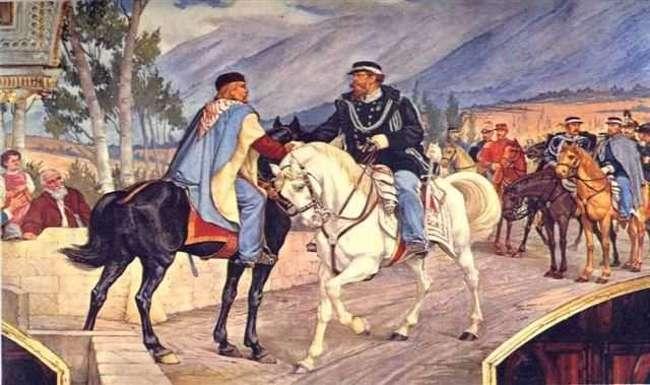 L'incontro tra Garibaldi e Vittorio Emanuele II a Teano fu una farsa...