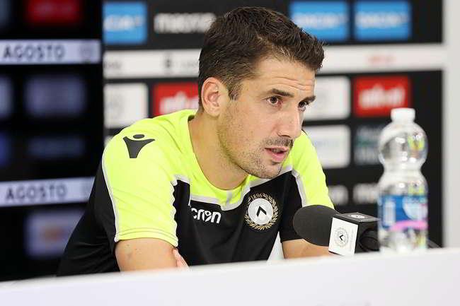 """Udinese, Velazquez: """"Il Napoli è forte ma non è la Juventus. Possiamo fare punti"""""""