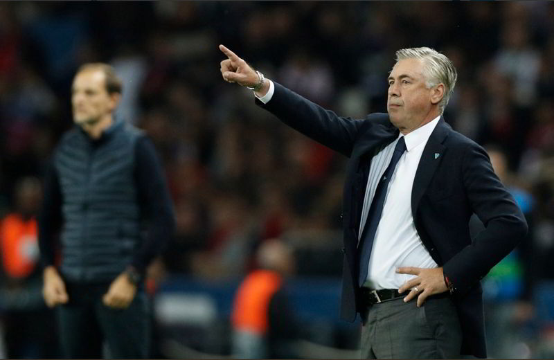 SKY le ultime su Napoli-Psg. Ancelotti pensa a Fabian e al 4-4-2