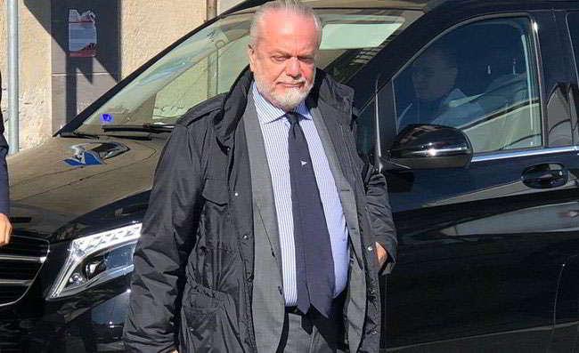 """De Laurentiis: """"Napoli-Psg notti magiche"""". Il fischio a Cavani e i Napoletani che..."""