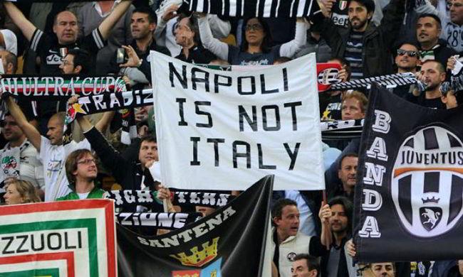 Cori contro Napoli, graziata la Juve. Altro che chiusura della curva