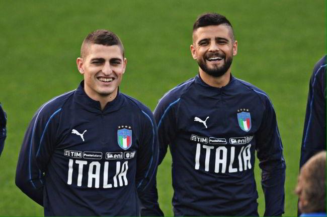 """Insigne: """"Ancelotti è l'uomo giusto per vincere. A Veratti ho detto..."""""""