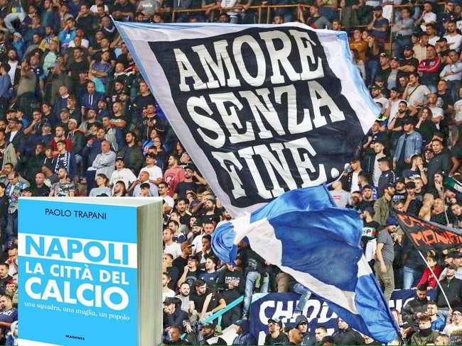Napoli la città del calcio. Paolo Trapani stupisce ancora