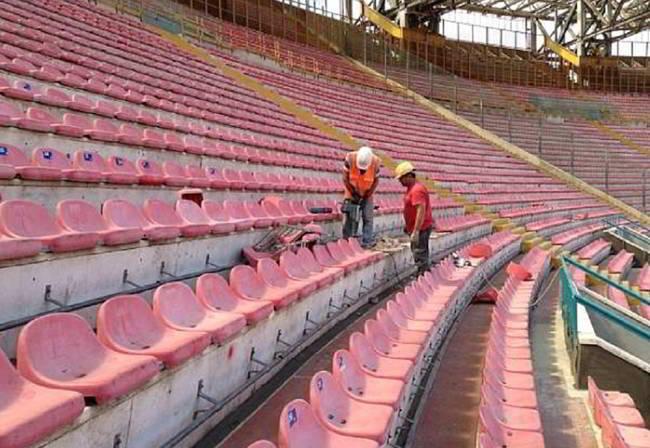 Arrivano i sediolini al San Paolo e la convenzione. La pista sarà...