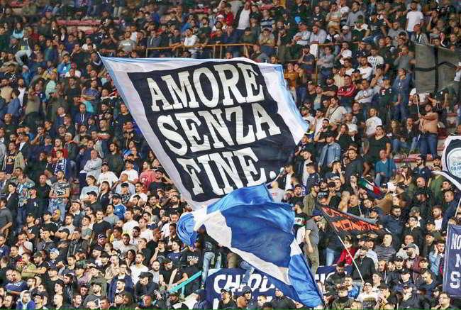 Napoli-Chievo è già record di spettatori al San Paolo