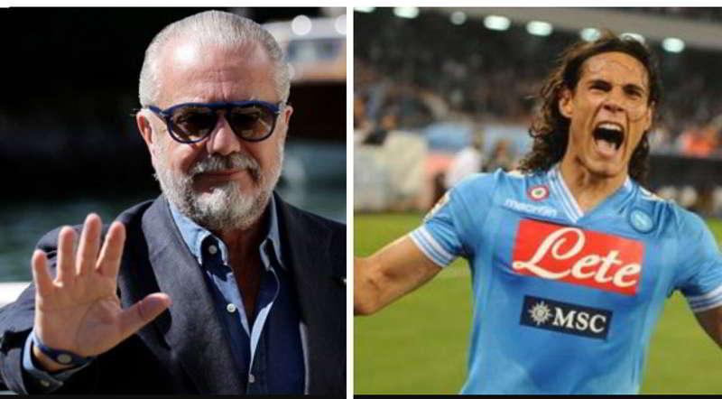 """De Maggio rivela: """"Cavani al Napoli, questa è la volta buona"""""""