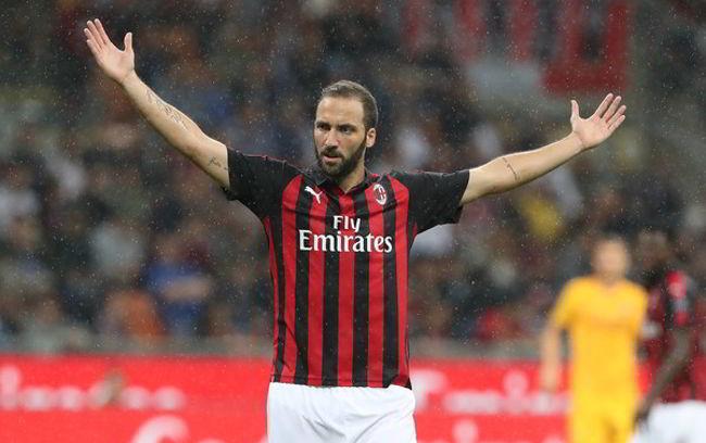 """Higuain: """"A Napoli meritavamo la vittoria. Ibra? abbiamo Cutrone"""""""