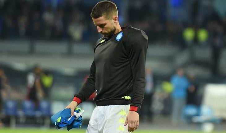 Infortunio Mertens ultimissime: Cauto ottimismo ma...
