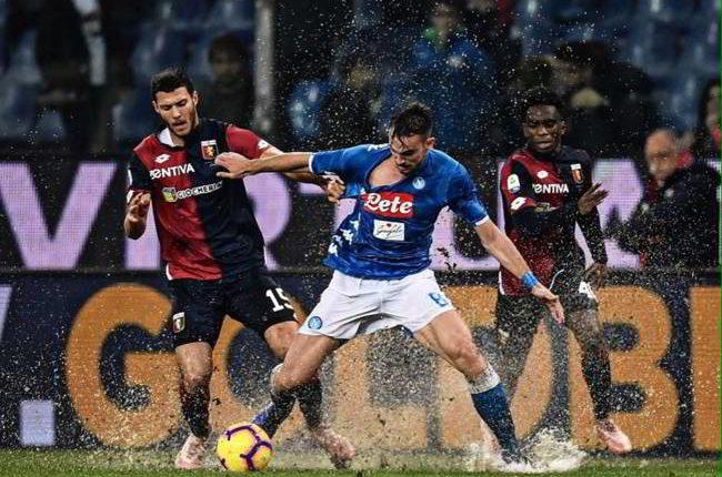 """Pistocchi commenta Genoa-Napoli: """"prova di grande spessore..."""""""
