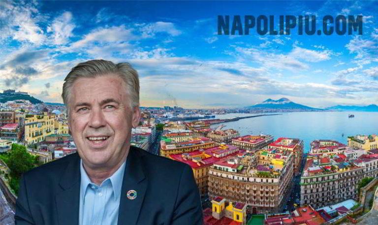 Carlo Ancelotti, racconta Napoli e la voglia di restare a lungo. Koulibaly, la mano di Sarri e la determinazione di stare al passo con la Juventus di Allegri.