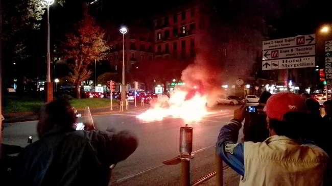 Scontri Inter-Napoli. Agguato ai napoletani presenti ultras del Varese e del Nizza...