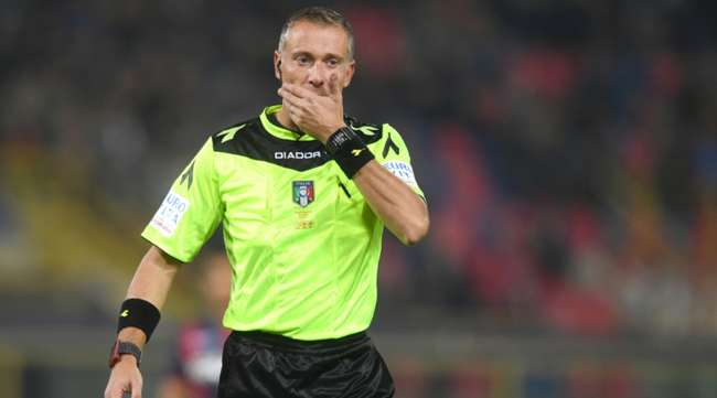Classifica senza errori arbitrali 2018. Valeri scandaloso il Napoli...