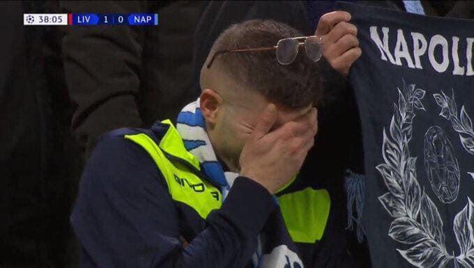 """Tifoso del Napoli in lacrime scatena il web. Ariemma: """"divanisti social senza vergogna"""""""