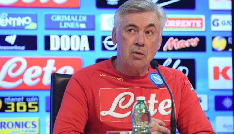"""Ancelotti: """"koulibaly e Allan non si muovono. Mercato? speriamo finisca..."""""""