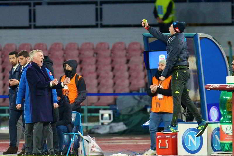 Napoli, Ancelotti-Napoli prove di rinnovo, Il figlio Davide piace a...