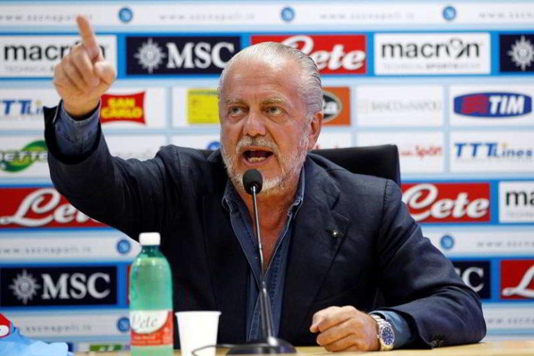 De Laurentiis al New York Times attacca il Frosinone, Lega e Figc