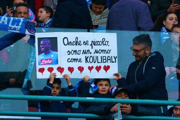 """Il Napoli contro Salvini sui cori razzisti. Ancelotti fermerà la squadra se non lo farà l'arbitro. De Laurentiis duro: """" questo è razzismo, pronti a perdere punti""""."""