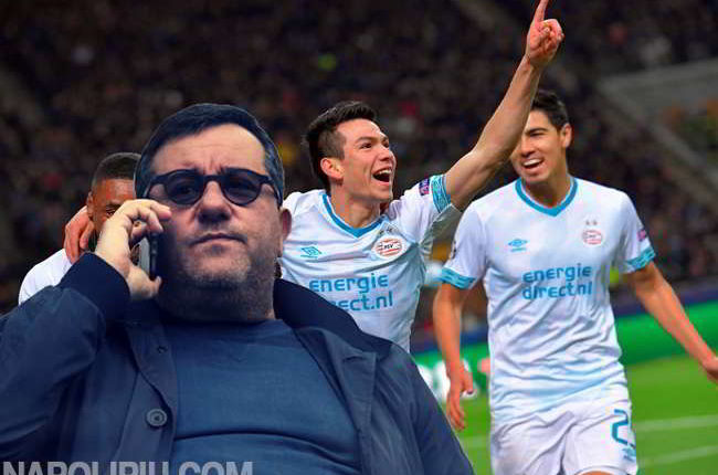 La trattativa Lozzano-Napoli arriva ad un punto di svolta. Il Napoli vuole il talento del PSV. Arriva la risposta di Raiola.