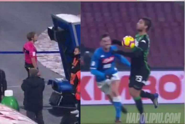 Moviola: Giusto annullare il goal di Locatelli. Rui graziato...