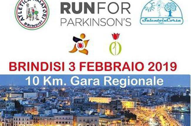 Run of parkinson Brindisi. La corsa della solidarietà