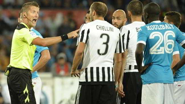 Juventus, Valeri e Mazzoleni contro il Napoli. Ecco le prove