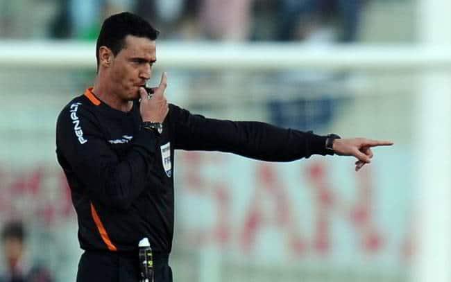 Arbitro assegna rigore per una bestemmia